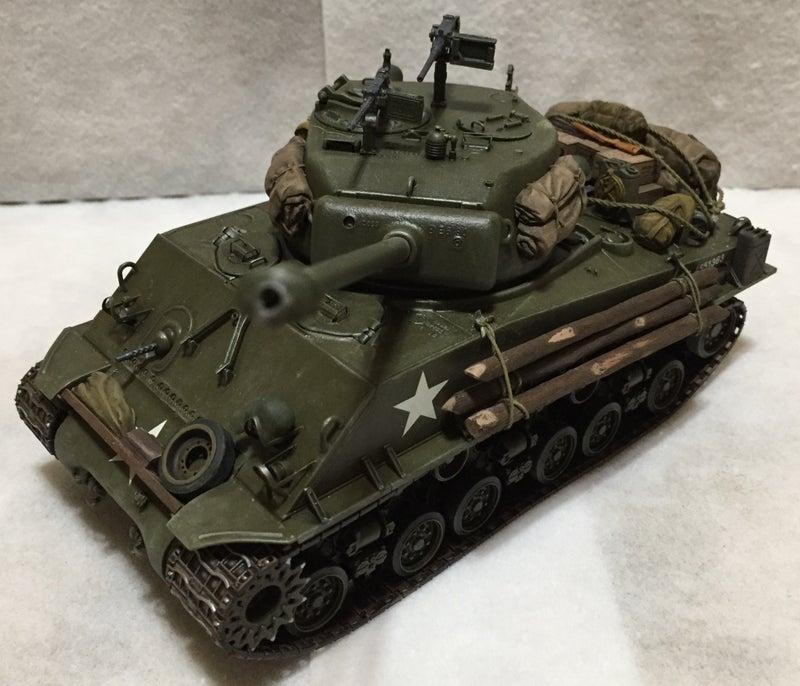 タミヤ 1/35 M4A3E8 シャーマン イージーエイト (ヨーロッパ戦線)
