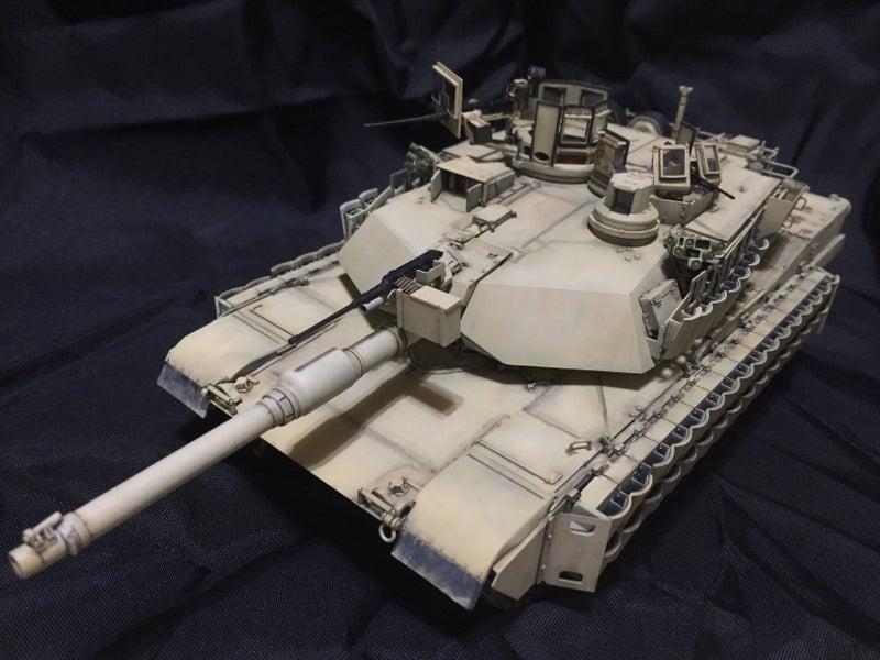 モンモデル 1/35 アメリカ主力戦車 M1A2エイブラムス SEP TUSKⅡ
