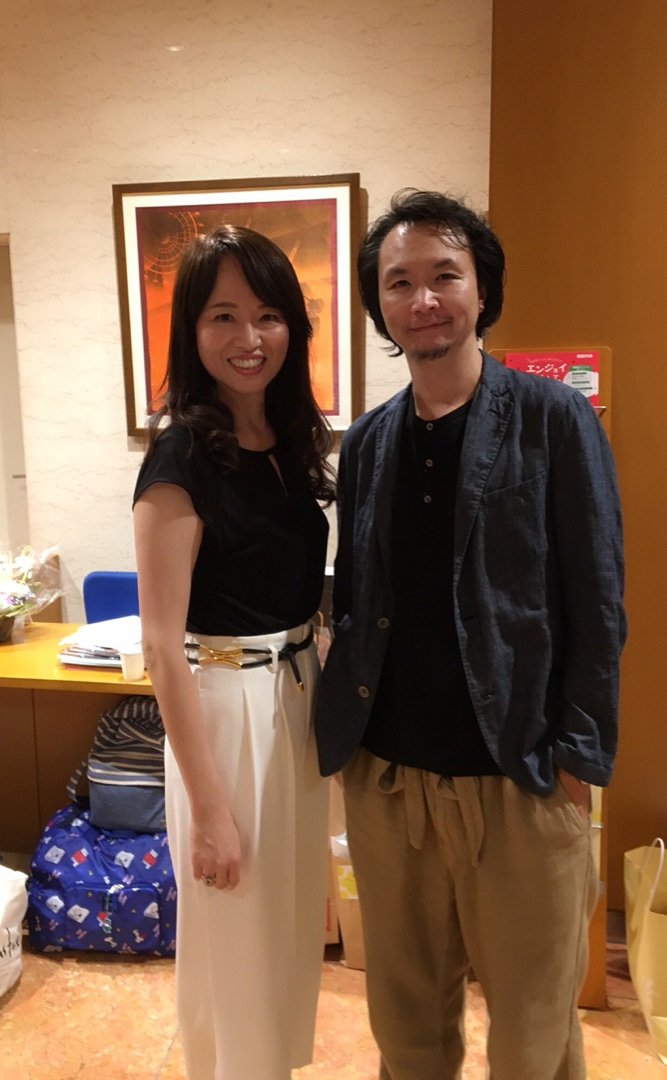 俳優長塚圭史さんと常盤貴子さんと | 困難を笑顔に変えて未来を拓く
