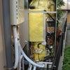 ソーラーでお湯を貯めるの画像