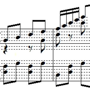 半音階的大ギャロップをいろんな音階にの画像