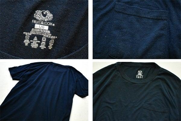 ポケットTシャツ無地ポケT画像@古着屋カチカチ