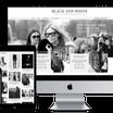 WordPressワードプレス無料テーマ Black & White インストールと設定
