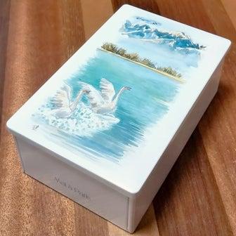 奇跡の食感!本当に素敵なお菓子「白鳥の湖」!