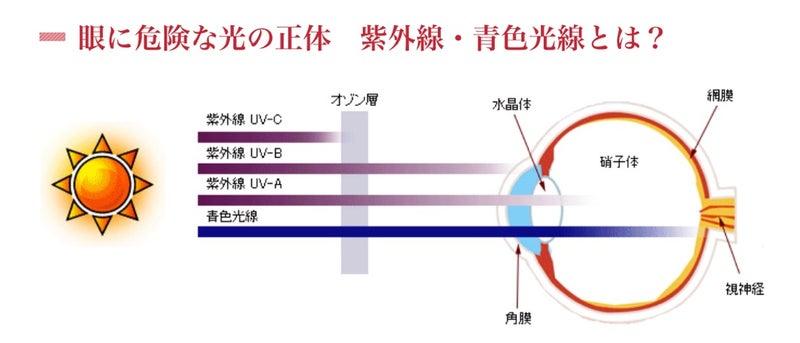 紫外線と目のケア