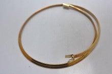 K18 オメガ ネックレス