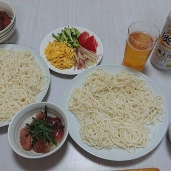 今日は一緒に夕飯~( *´艸`)
