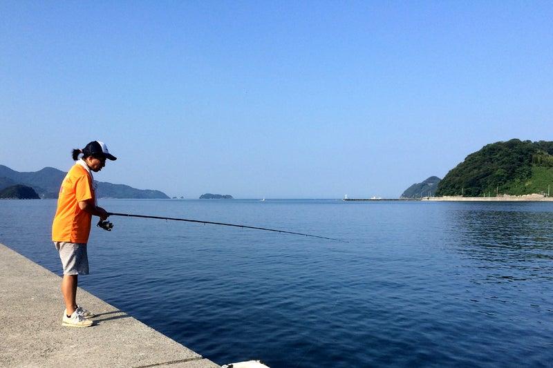 コッパグロ(メジナ)がたくさん釣れました!~三瓶・有網代(あらじろ)の波止での釣果・Part6~
