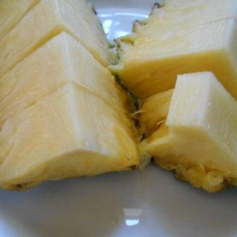 今日はパイナップルの日 なので