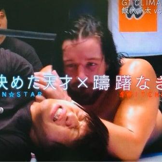 飯伏幸太がジェイ・ホワイトの猛攻に耐える!G1 決勝 8月12日 武道館大会!PART1