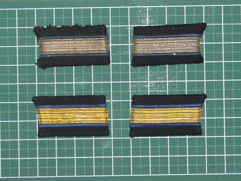 海軍 航空科 准士官・候補生 襟章 | 旧日本海軍収集展示艦