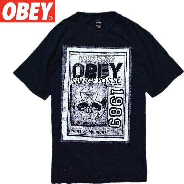 ブラック黒ビッグTシャツ画像@古着屋カチカチ