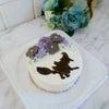 【募集】ハロウィン魔女の転写ケーキレッスンのご案内ですの画像