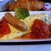 食う・1490 ハーブオムレツ トマトソース添え(ANAビジネスクラス機内食)