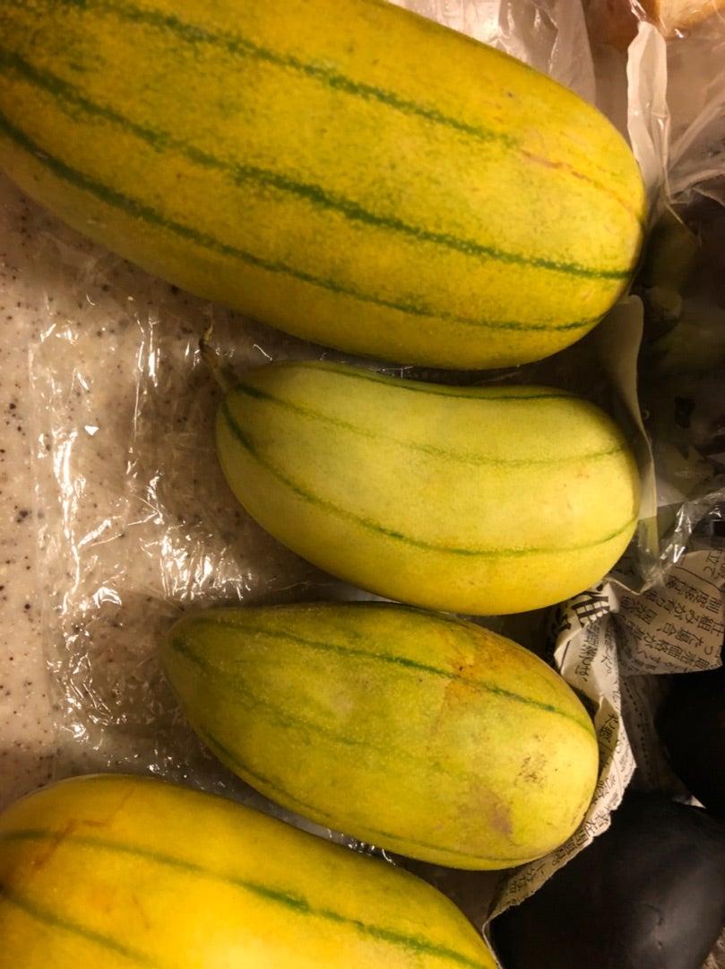 加賀みの瓜~メロンのような加賀野菜の瓜