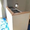 キッチン間仕切りカウンター天板の画像