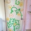 ドア落書きの画像
