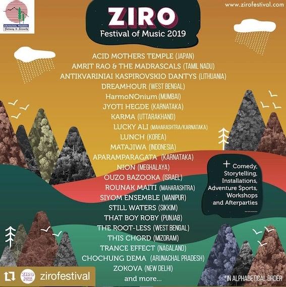 ZIRO Festival of Music 2019 – Ziro India | AcidMothersTemple