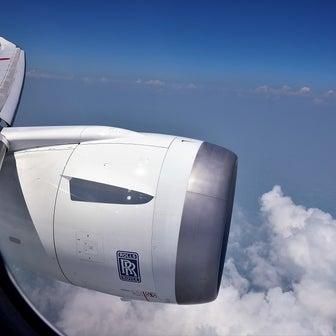 伊丹空港に着陸です