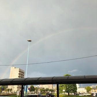 虹ーー!!