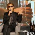 ② テーブルにペットボトル不要…YOSHIKIの美意識