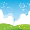 白いフワフワの雲にのってみよう マインドフルネスの画像