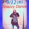 9月のSnazzy Danceの画像