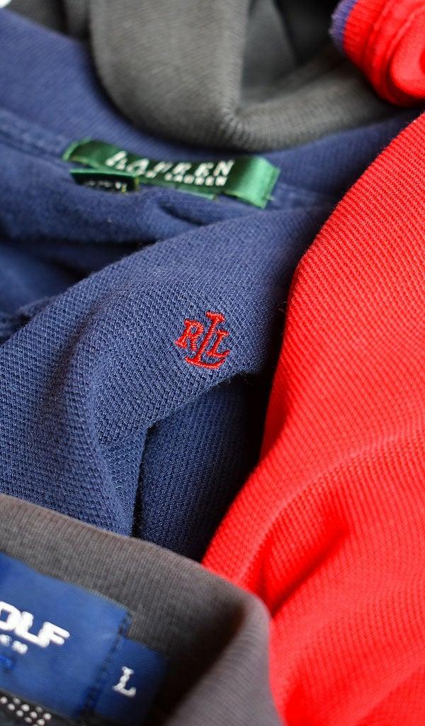 ポロラルフローレン半袖ポロシャツ@古着屋カチカチ