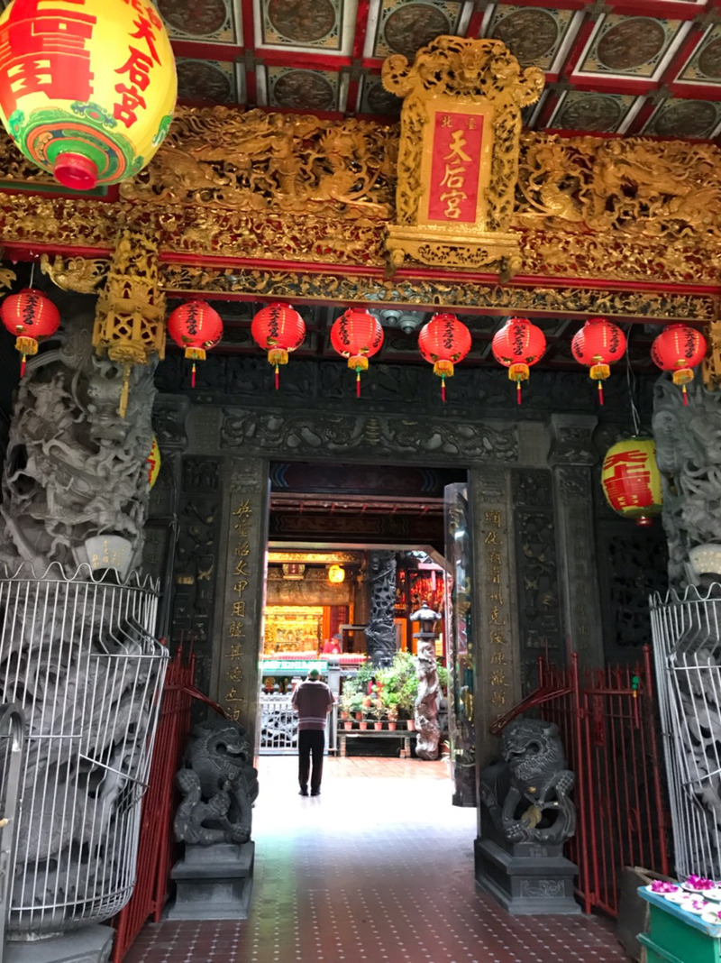 台北天后宮で、空海さんと出会う。   神さまと、二人三脚。