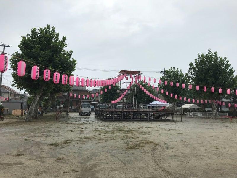 芝中田南公園 納涼盆踊り大会の...