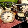 ♻️アンティーク風雑貨♻️☞置時計☞LEDライト☞キャンドルホルダー☞レジン製 貴婦人オブジェの画像