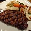 お肉にエビに!欲張りすぎる♪「トロピクス・バー&グリル」のステーキ&シュリンプ