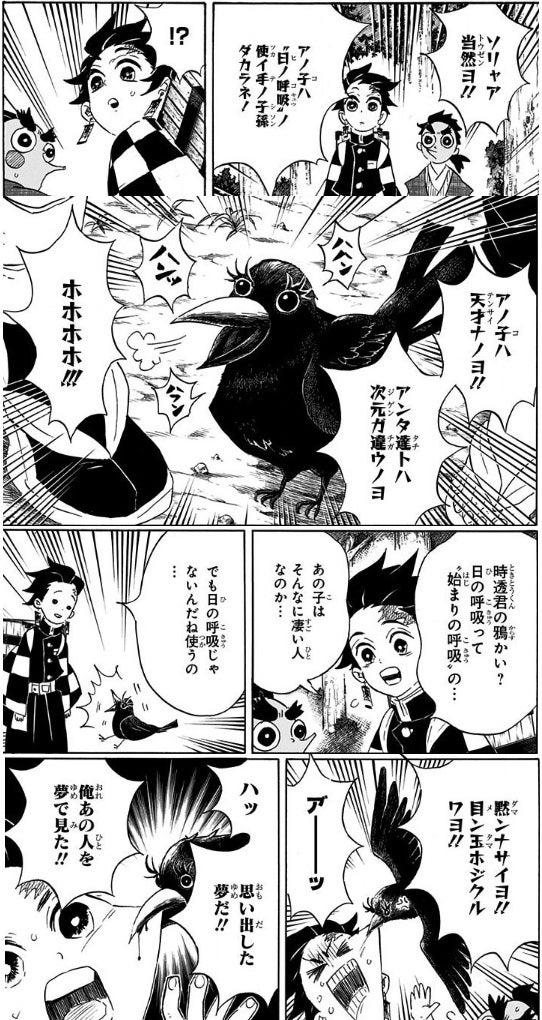 宣伝>鬼滅の刃 無一郎のカラス