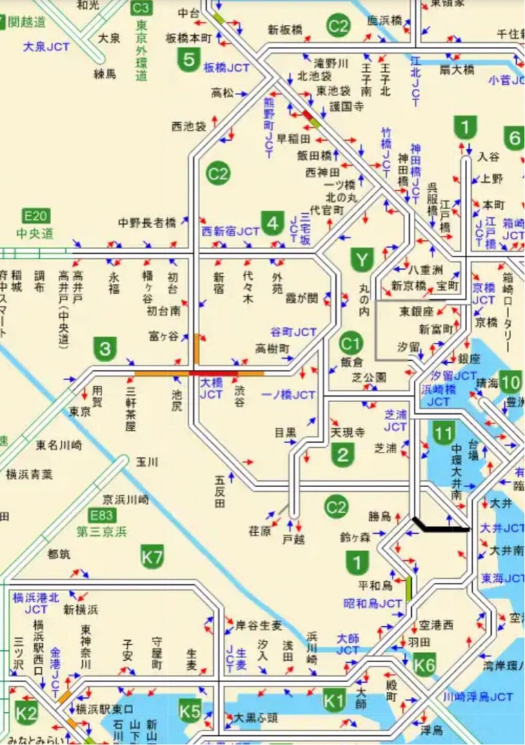 情報 渋滞 首都 高
