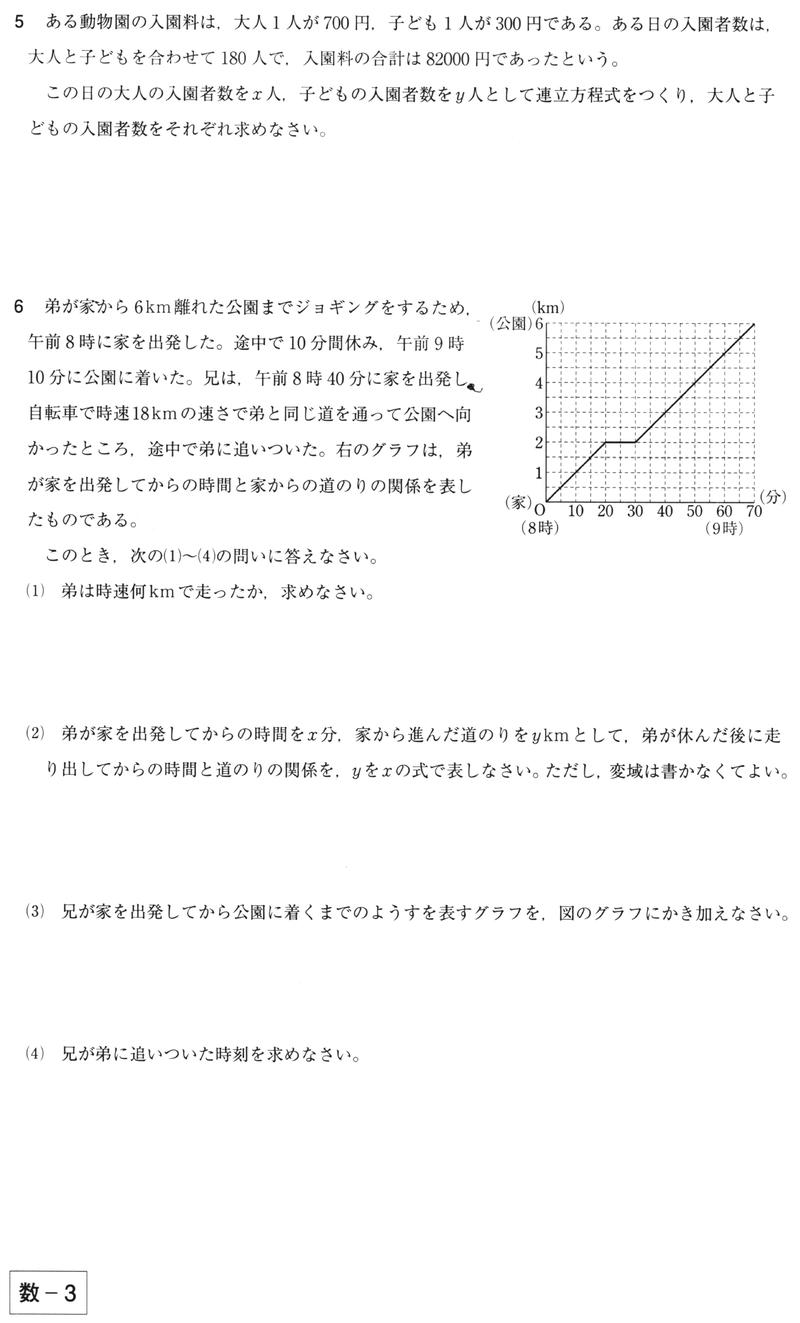 関数 数学 一次
