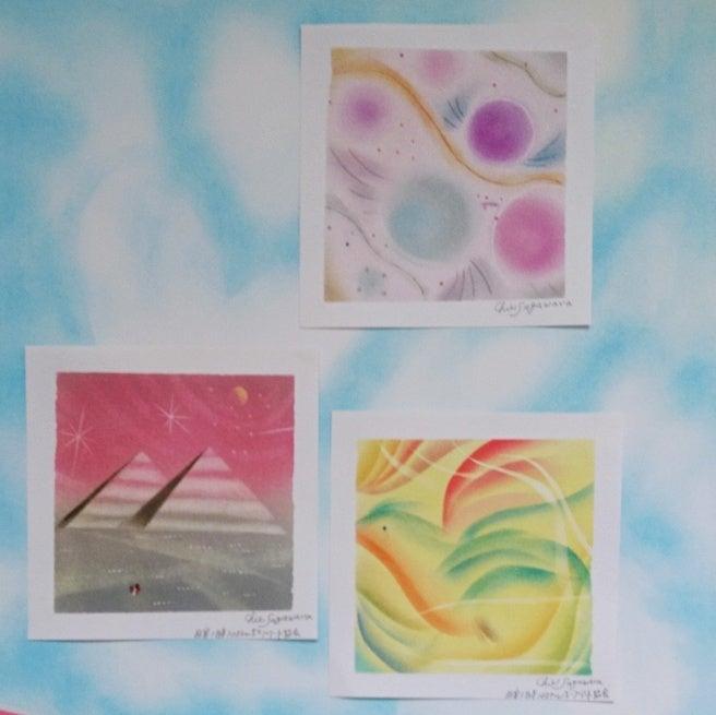 パステル和アート準インストラクター養成講座、パステル和アート作品、パステル和(NAGOMI)アート