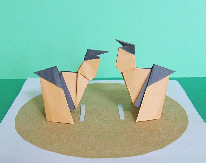 紙 相撲 折り紙