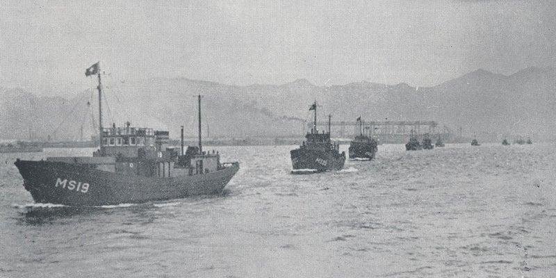 戦時に急造された木造特務艇の戦後の活躍と朝鮮戦争における悲劇 ...