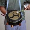 夏休み工作太鼓と弦楽器を作りました!の画像