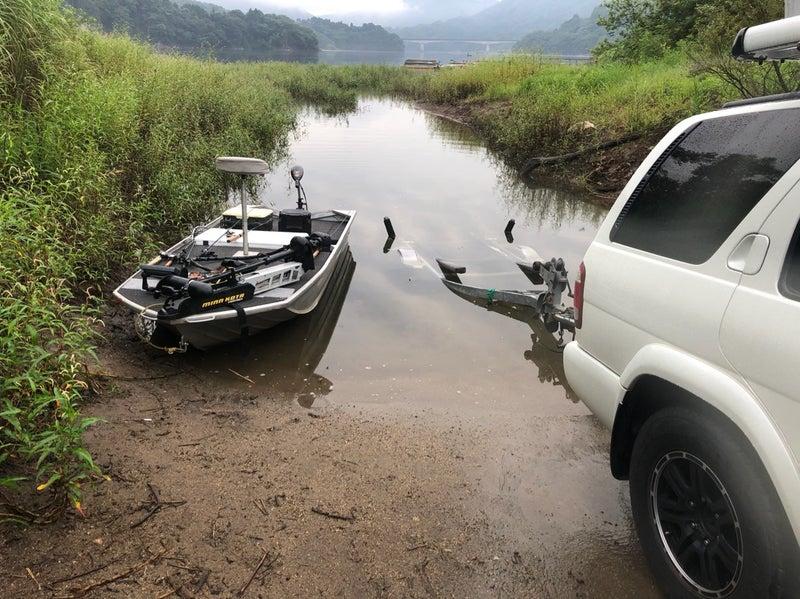 釣り 真野 ダム バス