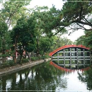 住吉大社ラン参りの画像