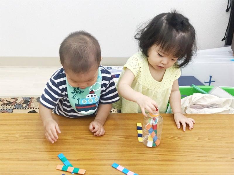 1歳児さんの体験レッスン