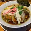 【むぎとオリーブ】《銀座/昼》鶏・煮干・蛤トリプルSOBAの画像