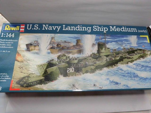 U.S.Navy LSM 1   プラモデル空母の特徴