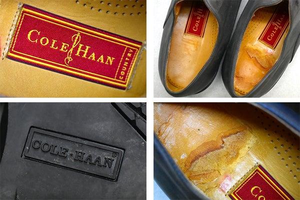黒レザーシューズ革靴画像@古着屋カチカチ