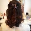 本日のお客様♡ヘアメイク継続レッスン後のフォローレッスン♪ソフィアボーテの画像