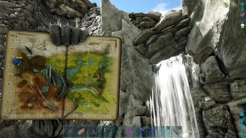 バルゲロ 洞窟 Ark
