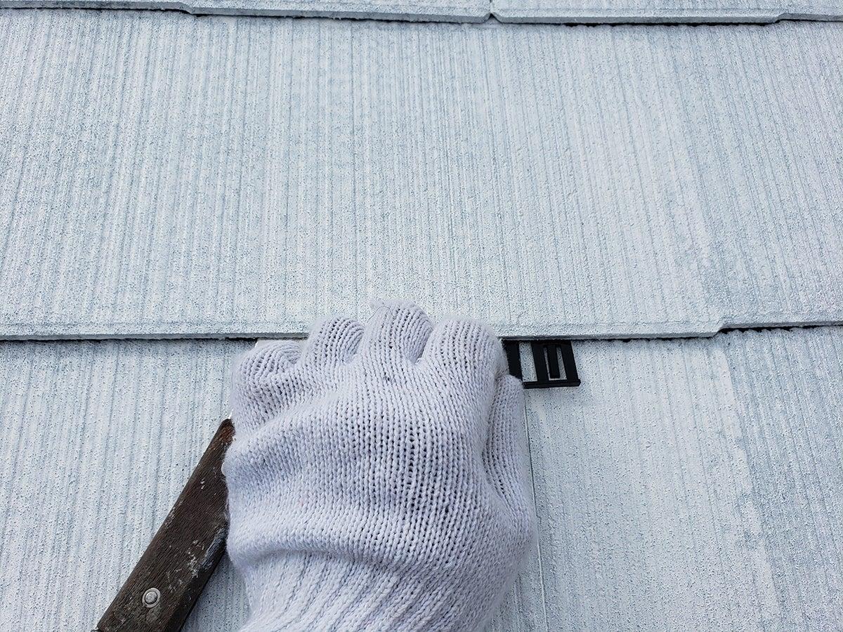 外壁・屋根塗装の施工の様子☆
