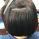 縮毛矯正ファイル95(定期的なグレイカラー)の記事より