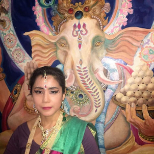 インド舞踊で不動明王を踊る!の画像
